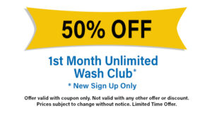 50% Off First Month