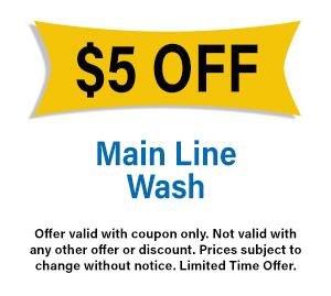 Main Line Wash